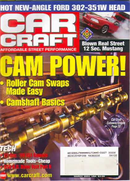 Car Craft - March 2004