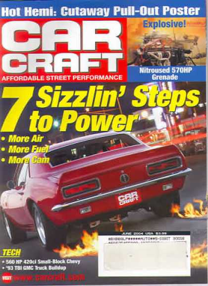 Car Craft - June 2004