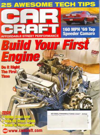 Car Craft - July 2004