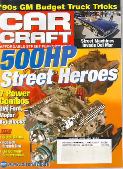 Car Craft - August 2004