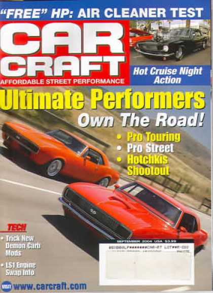 Car Craft - September 2004