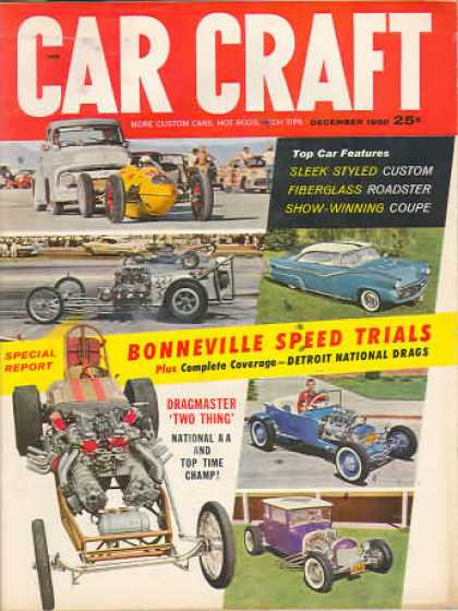 Car Craft - December 1960