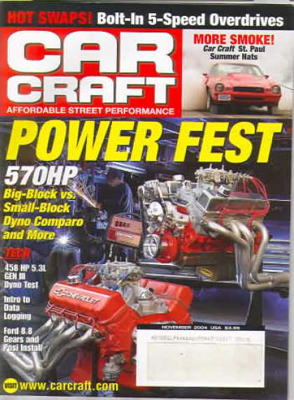 Car Craft - November 2004