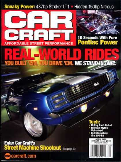 Car Craft - April 2005