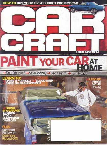 Car Craft - April 2006