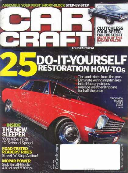 Car Craft - August 2006