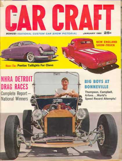 Car Craft - January 1961