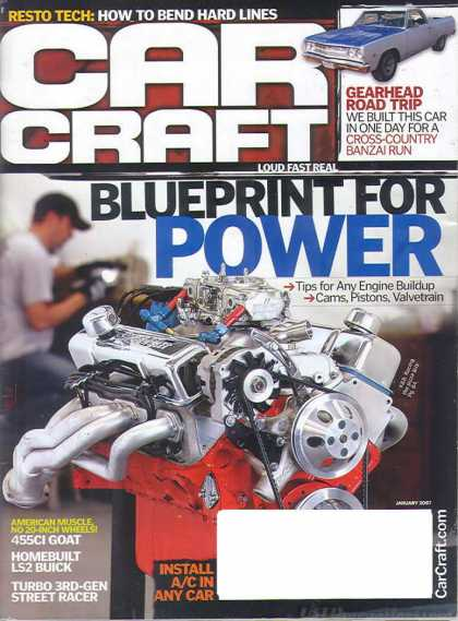 Car Craft - January 2007