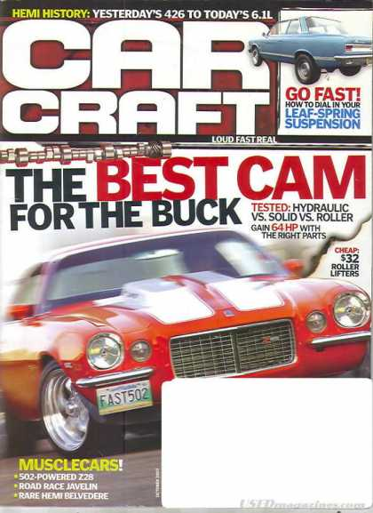 Car Craft - October 2007