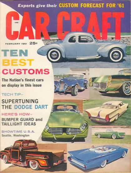 Car Craft - February 1961