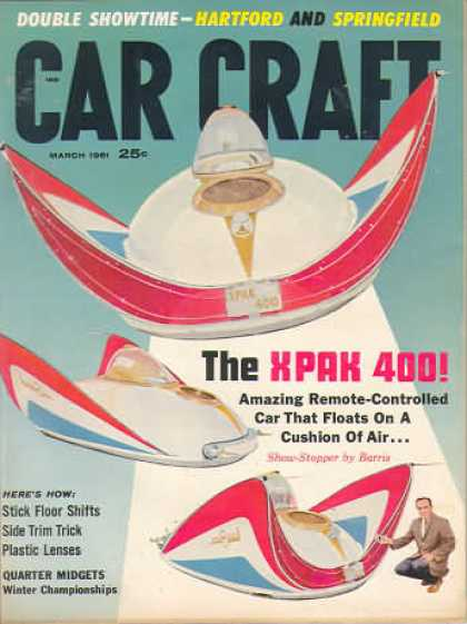 Car Craft - March 1961