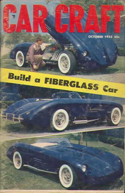 Car Craft - October 1955