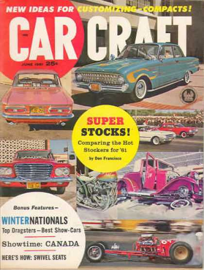 Car Craft - June 1961