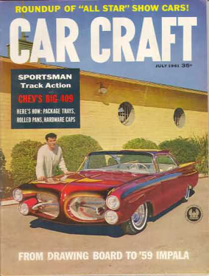 Car Craft - July 1961