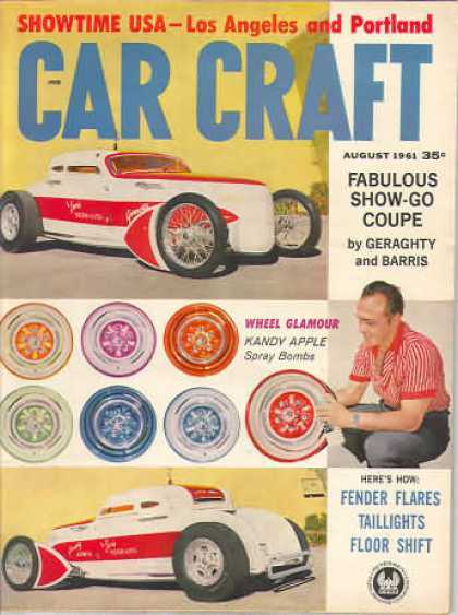 Car Craft - August 1961