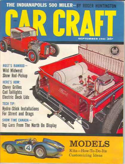 Car Craft - September 1961