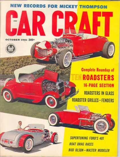 Car Craft - October 1961