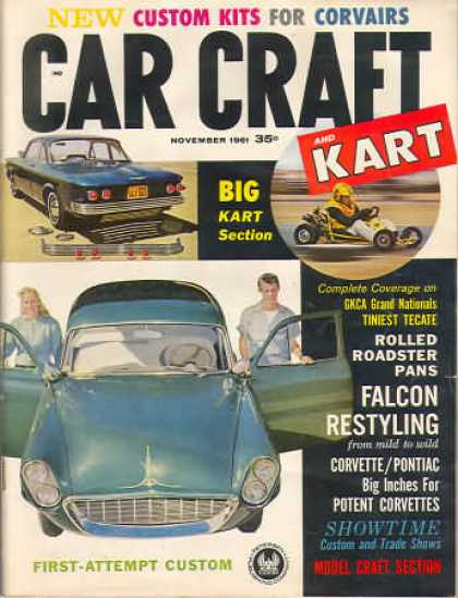 Car Craft - November 1961