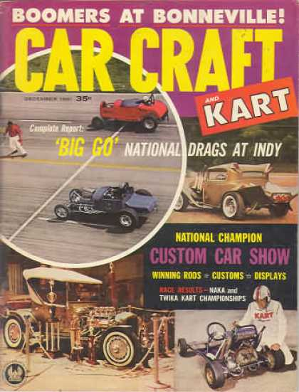 Car Craft - December 1961