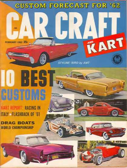 Car Craft - February 1962