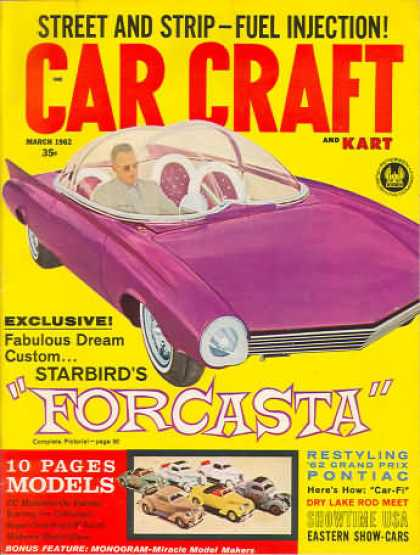 Car Craft - March 1962