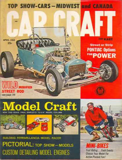 Car Craft - April 1962