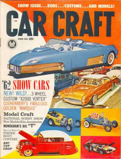 Car Craft - June 1962