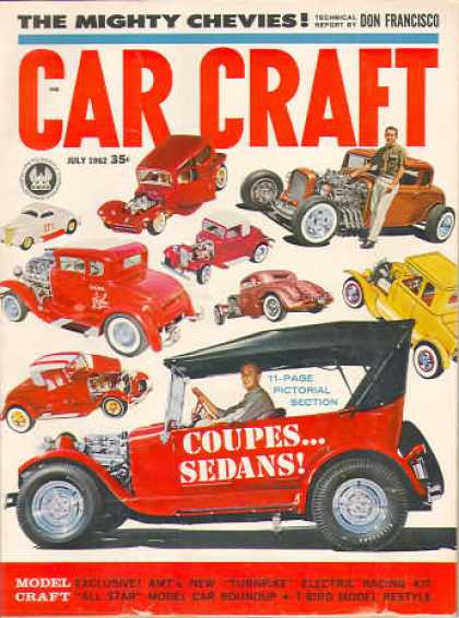 Car Craft - July 1962
