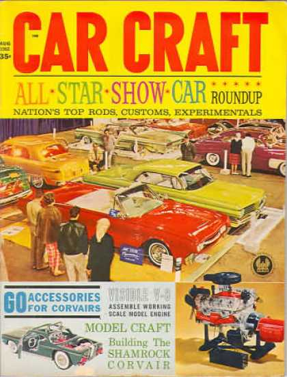 Car Craft - August 1962