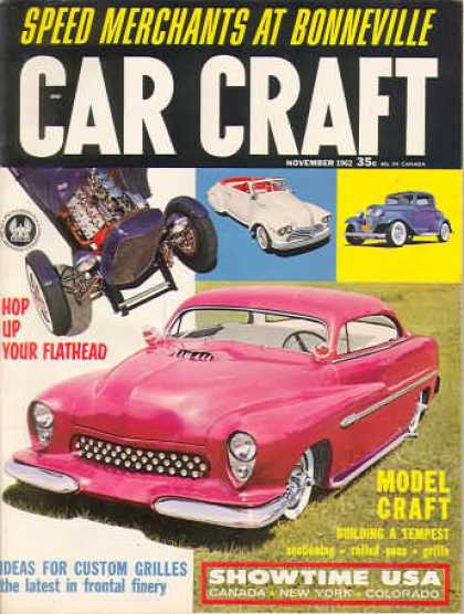 Car Craft - November 1962