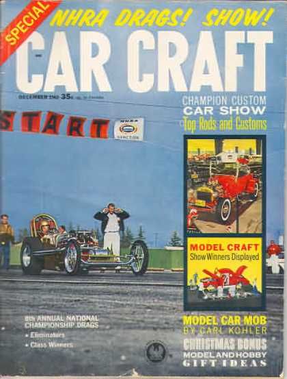 Car Craft - December 1962