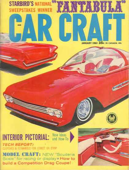 Car Craft - January 1963