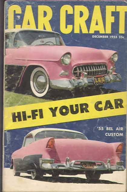 Car Craft - December 1955