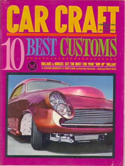 Car Craft - February 1963