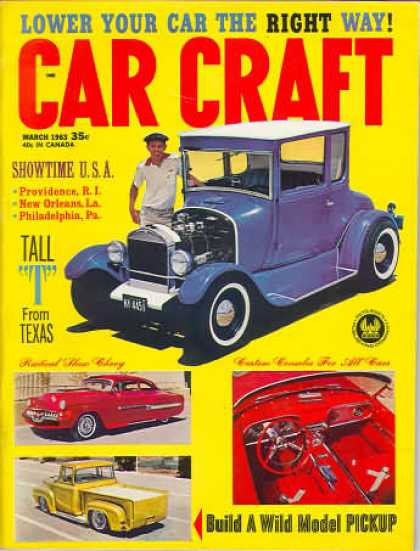 Car Craft - March 1963