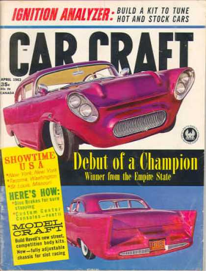 Car Craft - April 1963