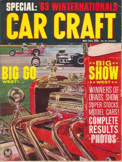 Car Craft - May 1963