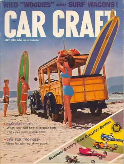 Car Craft - July 1963