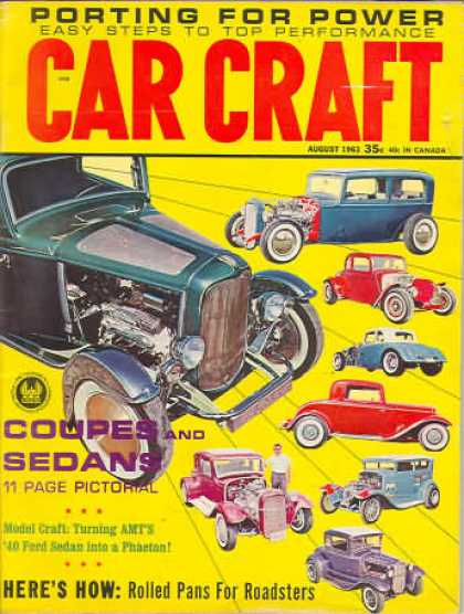 Car Craft - August 1963