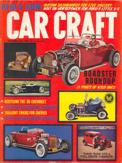 Car Craft - October 1963