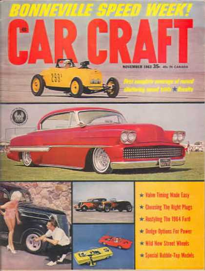 Car Craft - November 1963