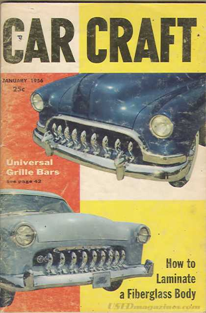 Car Craft - January 1956