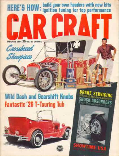 Car Craft - January 1964