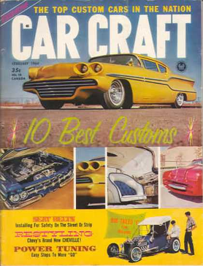 Car Craft - February 1964