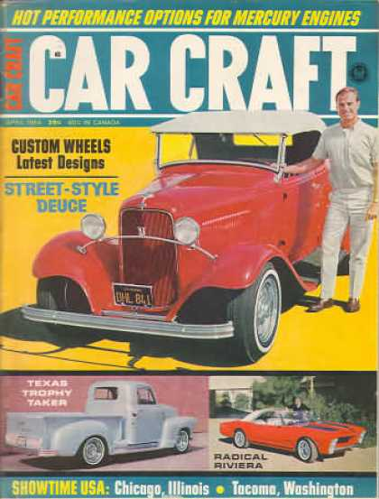 Car Craft - April 1964