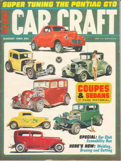 Car Craft - August 1964
