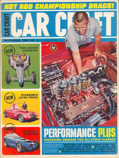 Car Craft - September 1964