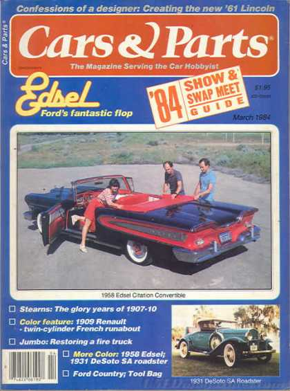 Cars & Parts - March 1984