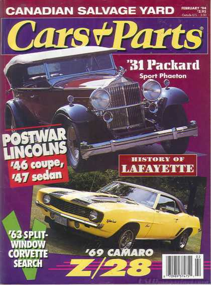 Cars & Parts - February 1994