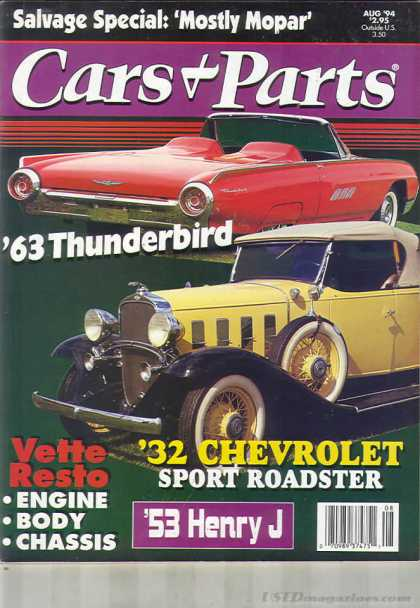 Cars & Parts - August 1994